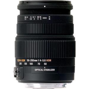 Objectif EF-S 50-200mm f/4-5.6