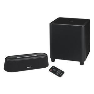 Barre de son Toshiba SBM1W Mini 3D - Noir