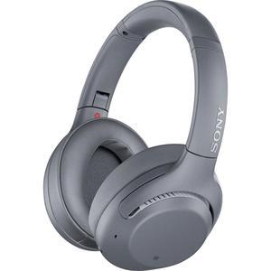 Kopfhörer Rauschunterdrückung Bluetooth mit Mikrophon Sony WH-XB900N - Grau
