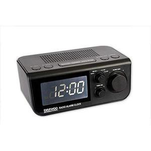 Radio Réveil Digital Daewoo DCR48B - Noir