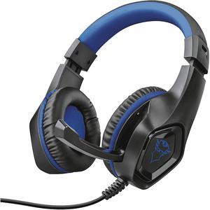 Casque Gaming avec Micro Trust GXT 404B Rana Gaming Headset - Noir/Bleu