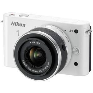 Nikon 1 J1 Hybrid 10.1 - White