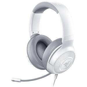 Kopfhörer Gaming mit Mikrophon Razer Kraken X - Weiß/Grau