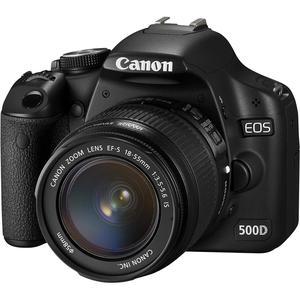 Canon EOS 500D Reflex 15.1 - Preto