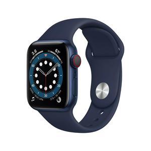 Apple Watch (Series 6) Septiembre 2020 40 mm - Aluminio Azul - Correa Deportiva Azul