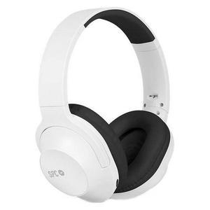 Casque Bluetooth avec Micro Spc Crow 4604 - Blanc/Noir