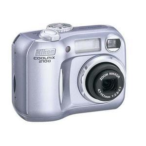 Nikon Coolpix 2100 Compact 2Mpx - Silver