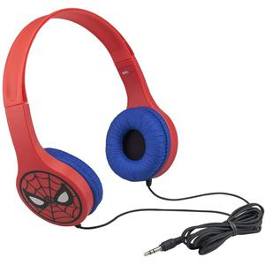 Casque Ekids Spiderman SM-126 - Rouge/Bleu