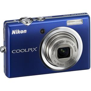 Compactcamera Nikon Coolpix S570 - Blauw + Lens Nikon Nikkor 5X Wide Optical Zoom