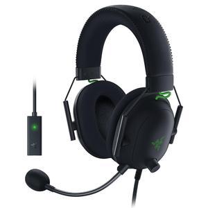 Kopfhörer Rauschunterdrückung Gaming mit Mikrophon Razer BlackShark V2 - Schwarz