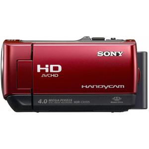 Caméra Sony Handycam HDR-CX105E - Rouge