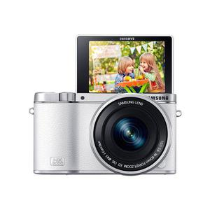 Hybride camera  NX3000 - Wit + Lens  NX 16-50mm f/3.5-5.6 Power Zoom ED OIS + Lens  50-200mm f/4.0-5.6 ED OIS III